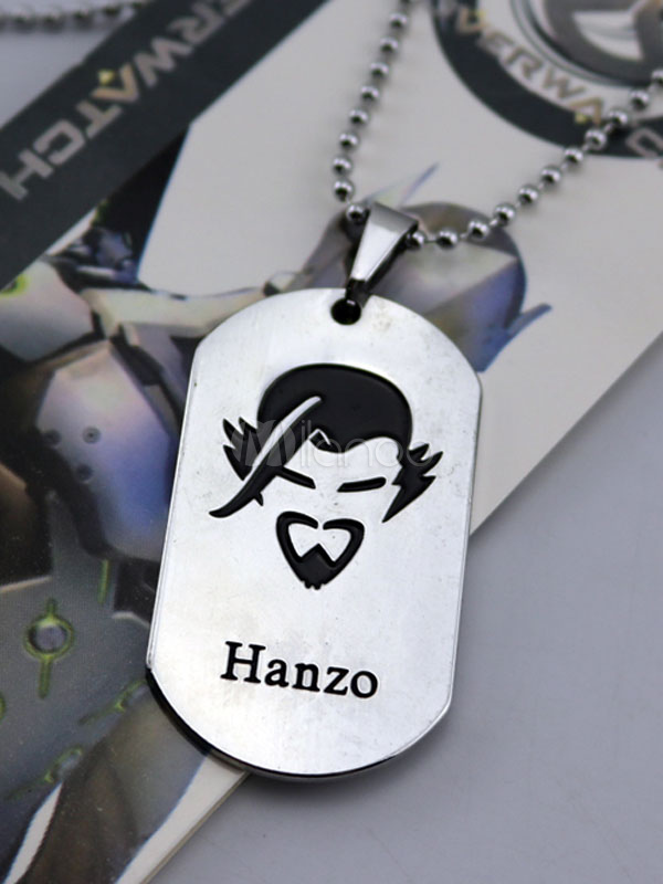 Buy Overwatch Ow Hanzo Metal Tag Blizzard Video Game Metal Tag Halloween for $3.67 in Milanoo store