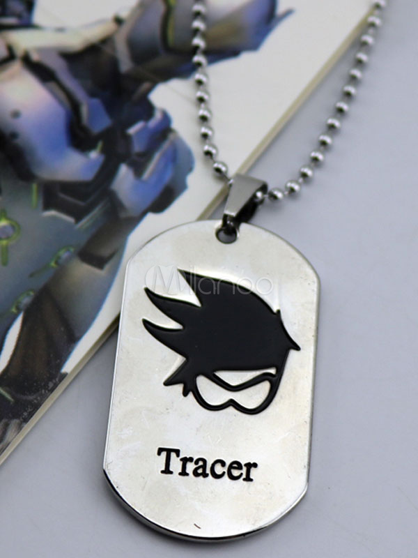 Buy Overwatch Ow Tracer Metal Tag Blizzard Video Game Metal Tag Halloween for $3.67 in Milanoo store