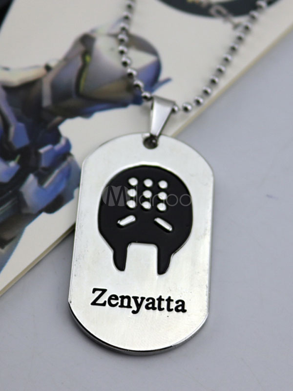Buy Overwatch Ow Zenyatta Metal Tag Blizzard Video Game Metal Tag Halloween for $3.67 in Milanoo store