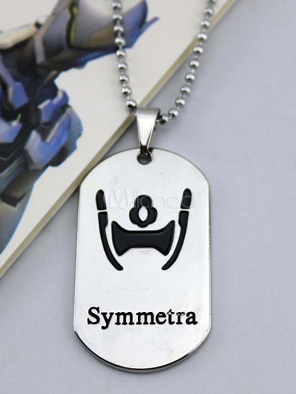 Buy Overwatch Ow Symmetra Y Metal Tag Blizzard Video Game Metal Tag Halloween for $3.67 in Milanoo store
