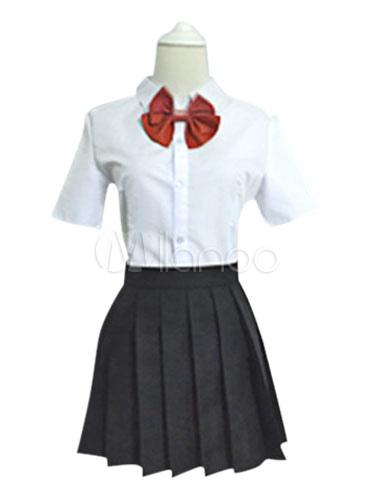 Buy Your Name Tachibana Taki Cosplay Costume School Girl Costume Halloween for $75.99 in Milanoo store