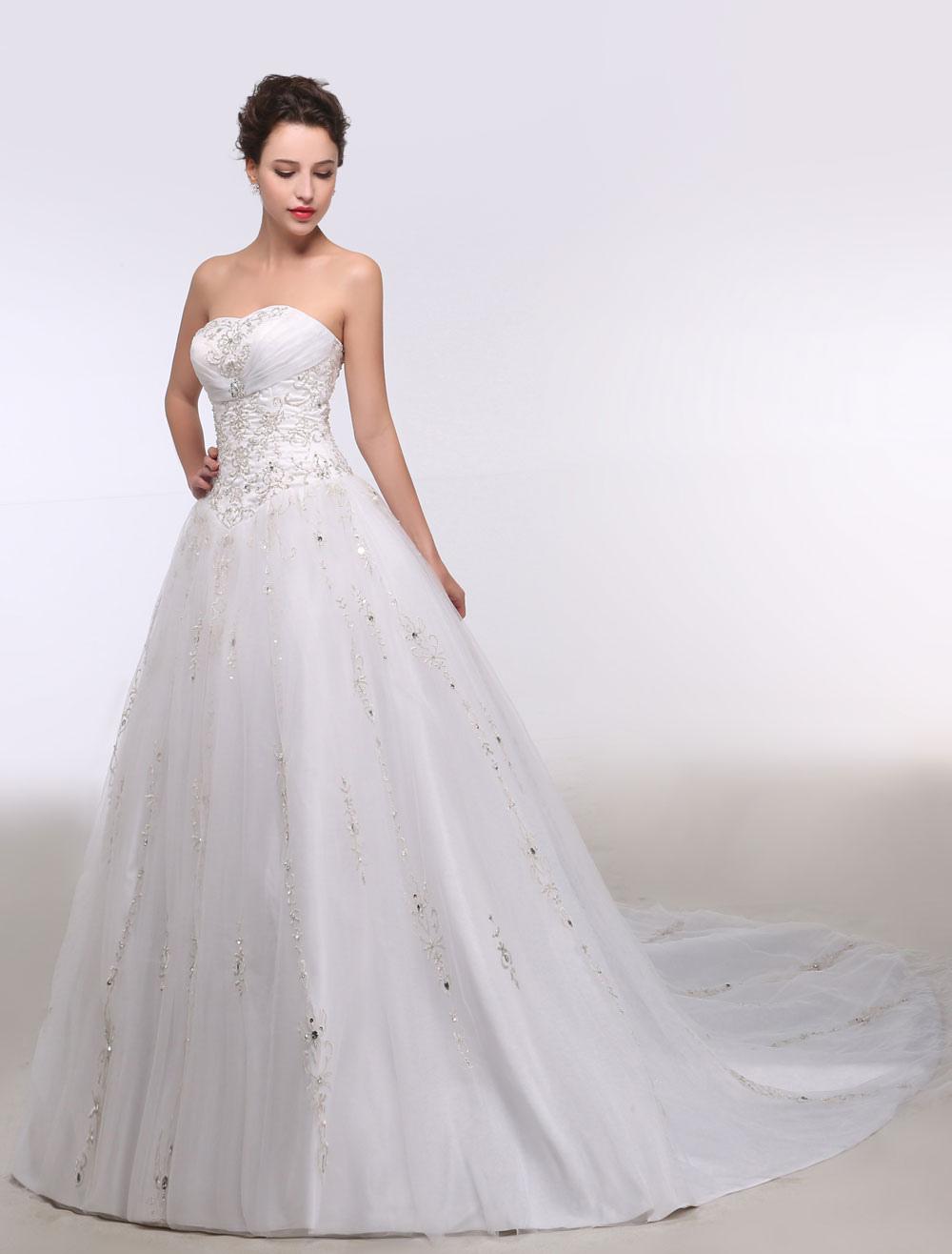 Vestidos de novia con bordados