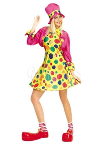 4fa2cfac54f1 Costume di Carnevale Costume di donna Circo pagliaccio del partito con accessori  Carnevale-No.