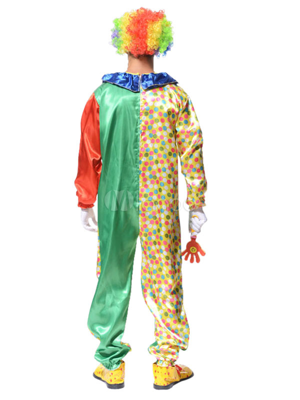 ... Carnival Clown Costume Circus Halloween Costume Jumpsuit For Men Halloween-No.2  sc 1 st  Milanoo.com & Carnival Clown Costume Circus Halloween Costume Jumpsuit For Men ...