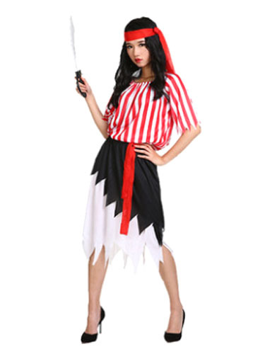 Women's Pirate Costume Sexy Fancy Dress Costume Halloween