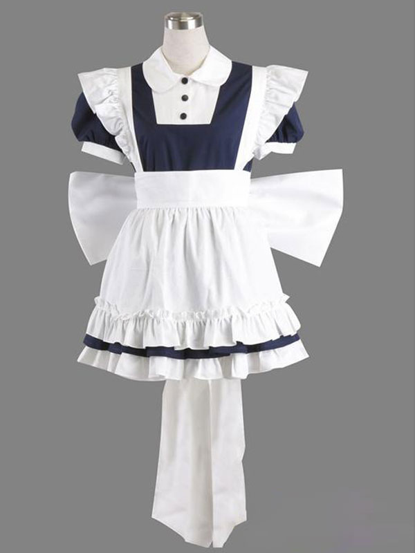 Buy Touhou Project Izayoi Sakuya Halloween Cosplay Costume Maid Cosplay Costume Halloween for $92.64 in Milanoo store