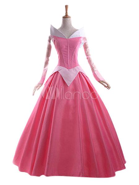 Disney Sleeping Beauty Princess Aurora Briar Rose Cosplay Costume Halloween
