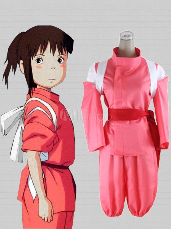 Spirited Away Ogino Chihiro Cosplay Costume Kimono Version Halloween Milanoo Com
