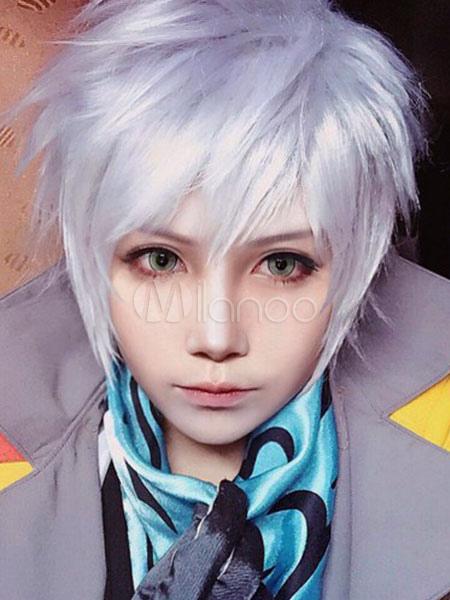 Final Fantasy XIII Hope Estheim Cosplay Wig Halloween