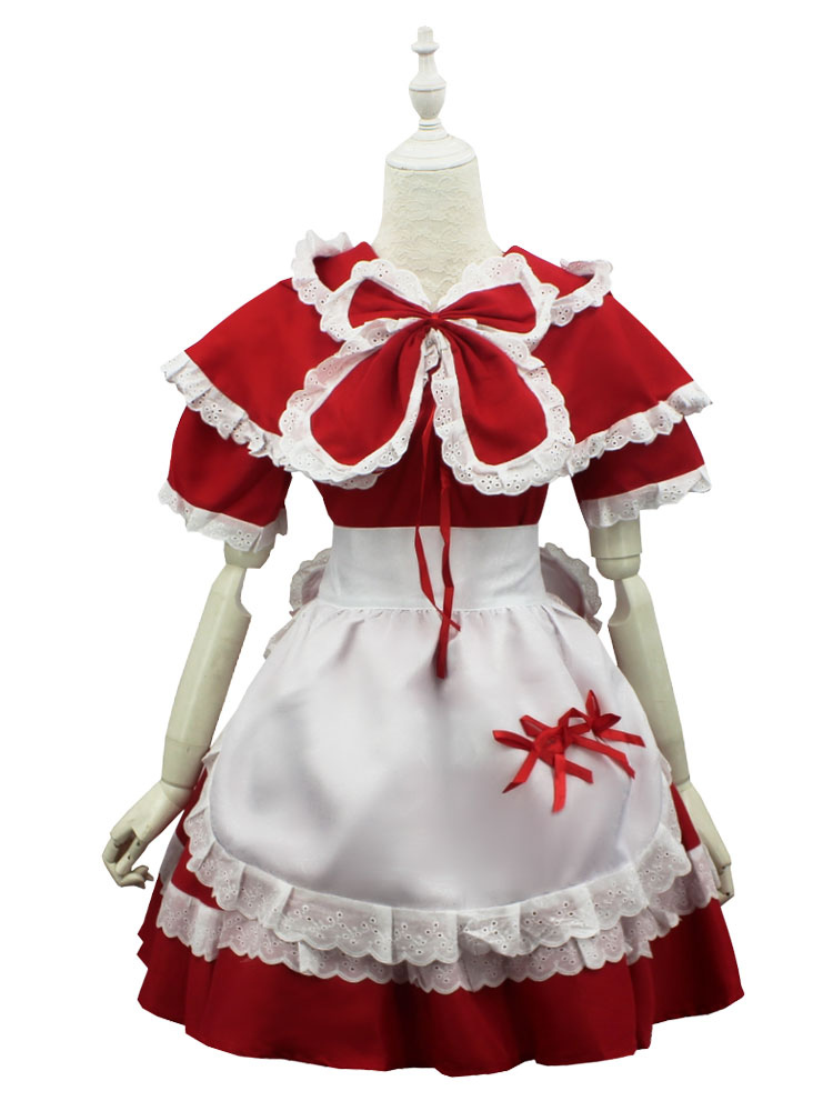 Buy League Of Legend Lol Red Riding Annie The Dark Child Cosplay Costume Halloween for $27.99 in Milanoo store
