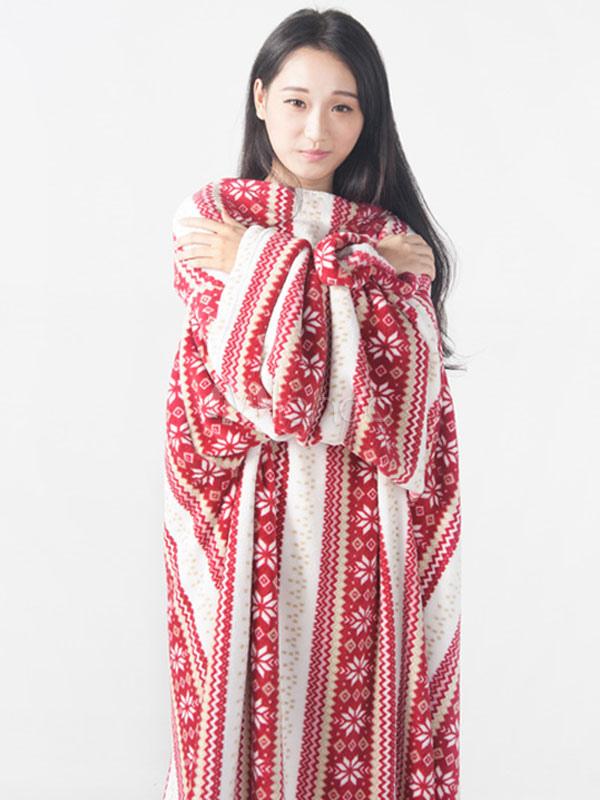 580b25971a Snuggie mono pijama Navidad dormir manta manga para adultos-No.1 ...