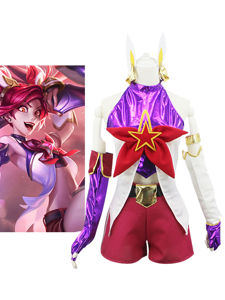 Buy League Of Legend Lol Star Guardian Jinx Cosplay Costume Halloween for $28.79 in Milanoo store