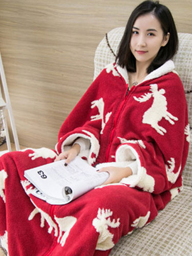 8b7c242205 Snuggie mono pijama Navidad manga manta ropa de dormir para adulto  Halloween-No.1 ...