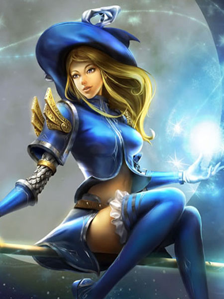 Buy League Of Legend Lol Sorceress Lux The Lady Of Luminosity Cosplay Costume Halloween for $108.99 in Milanoo store