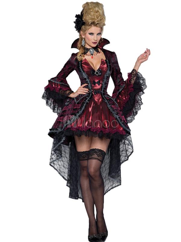 Sexy Halloween Victorian Fancy Dress Demon Costume Outfits For Women Halloween
