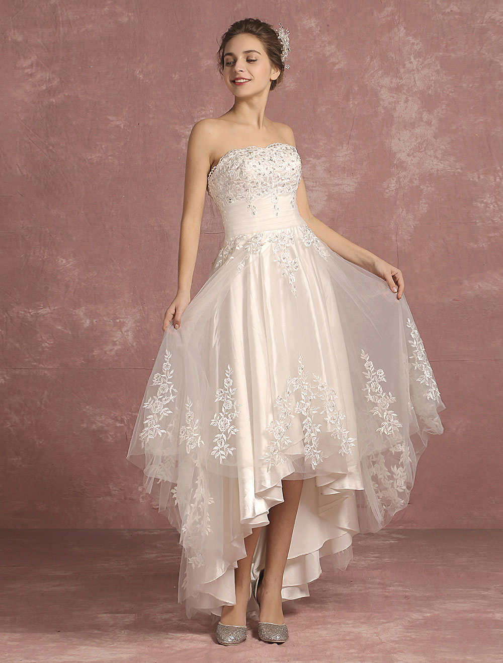 Wholesale Cheap Strapless Wedding Dresses, Discount Bridal Gowns |  Milanoo.com