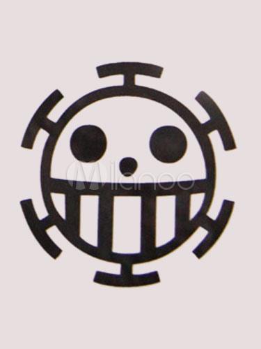 One Piece Donquixote Doflamingo Family Trafalgar Law Cosplay Anime Temporary Tattoo Halloween