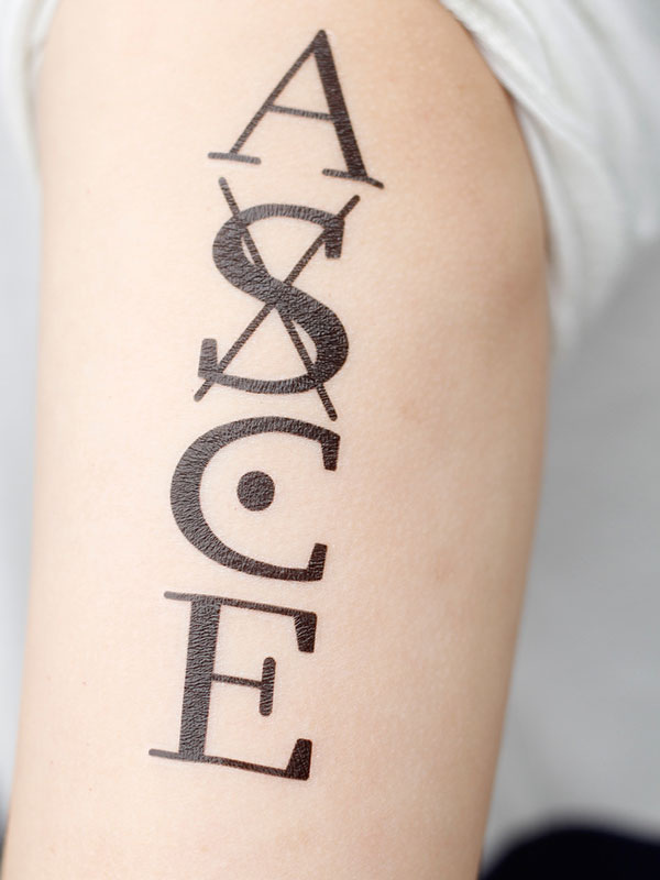 One Piece Ace Cosplay ASCE Anime Temporary Tattoo ...