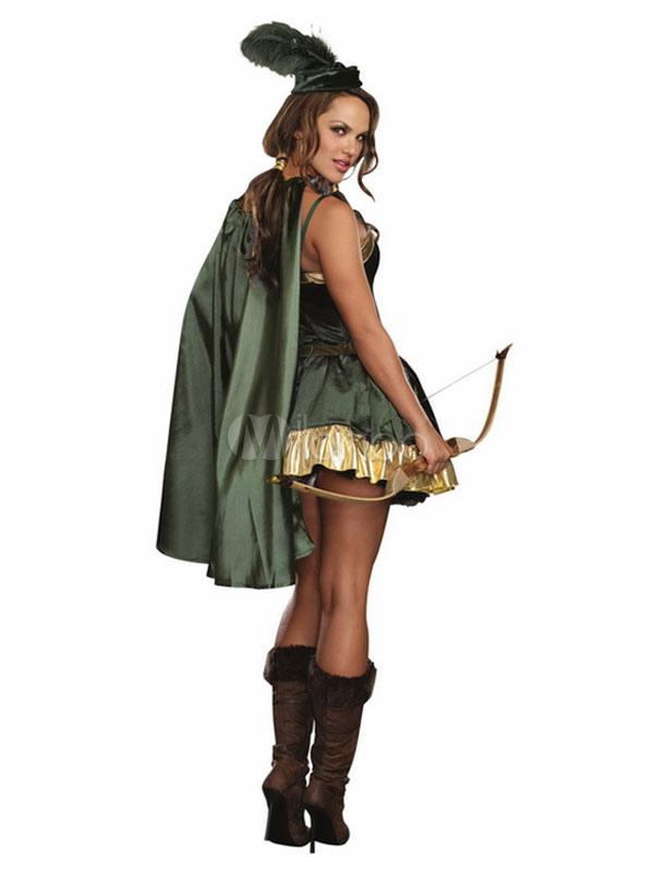 Peter Pan Kostüm Set Für Karneval In Grün Karneval Milanoocom