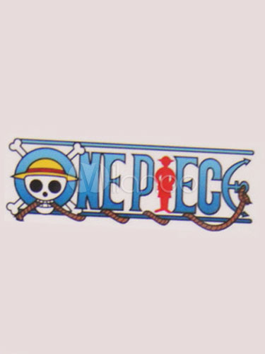 Buy One Piece Logo Cosplay Anime Temporary Tattoo Halloween for $3.59 in Milanoo store