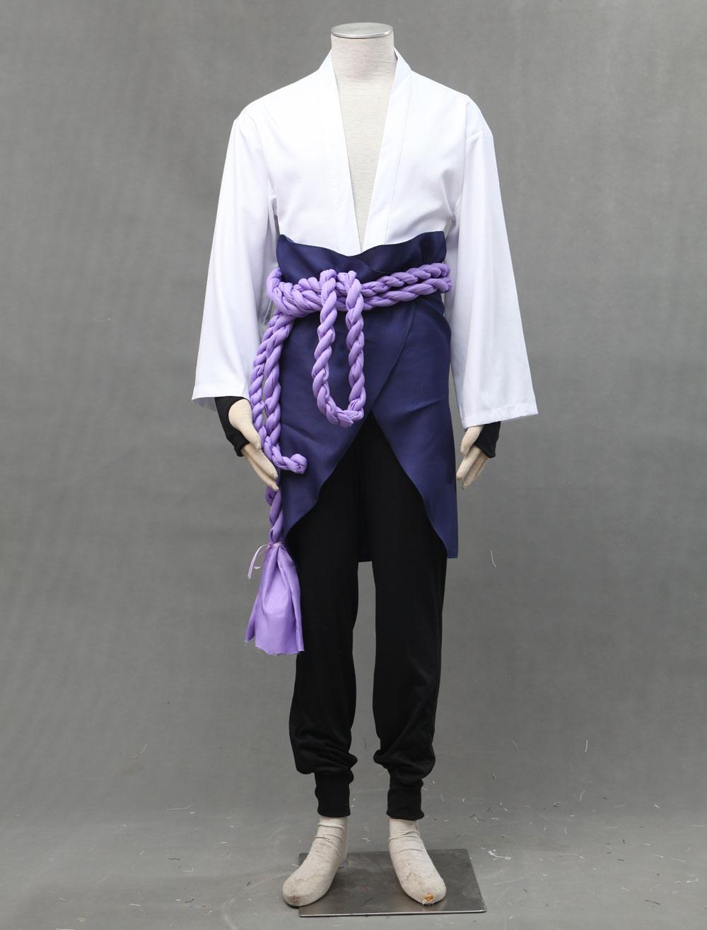 Naruto Shippuuden Uchiha Sasuke Halloween Cosplay Costume For Kid Halloween