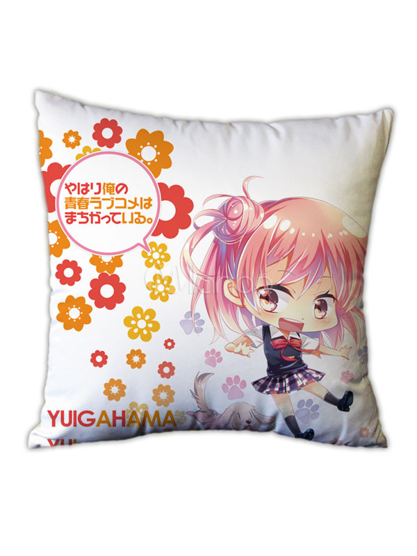 My Youth Romantic Comedy Is Wrong As I Expected Yuigahama Yui Anime Kawaii Personalised Pillowcase Halloween