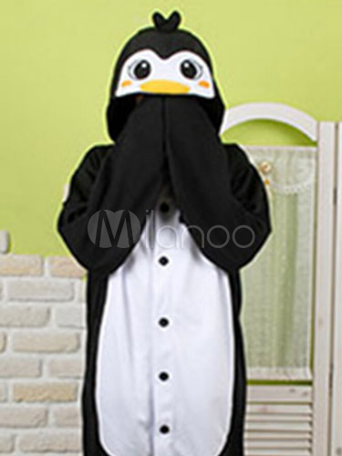 b787d36e5d ... Pijama Kigurumi pingüino mono Snuggie franela amarillo animales ropa de  dormir para adulto Halloween-No ...