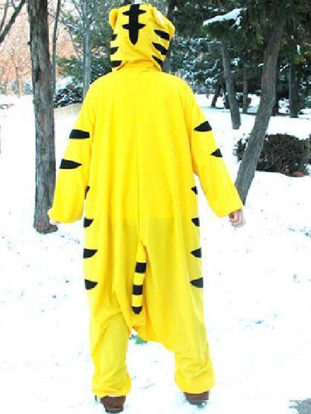 8f480ed7cf ... Pijama Kigurumi tigre mono blanco franela animales ropa de dormir para  las mujeres Halloween-No