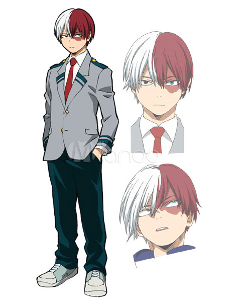 Buy My Hero Academia Boku No Hero Academia Todoroki Shouto Midoriya Izukui Cosplay Costume School Uniform Halloween for $55.99 in Milanoo store