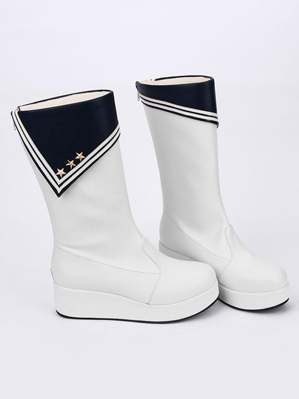 Zapatos de lolita con dibujo de estrellas HpdDQu