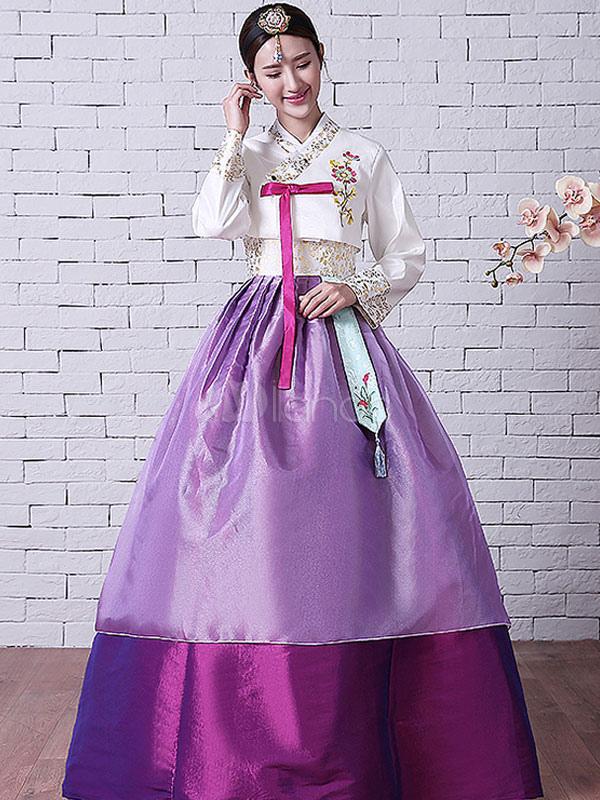 Vestido traje tradicional lujo vestido halloween traje Coreano ...