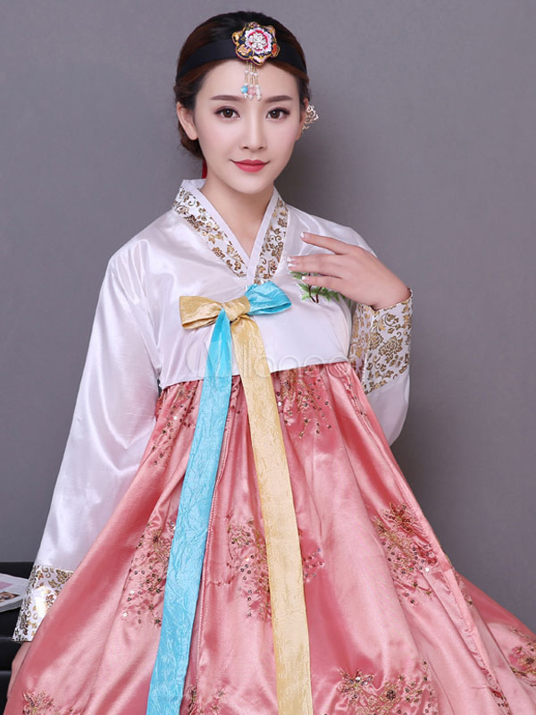 Traje de vestido de halloween traje Coreano tradicionales disfraces ...