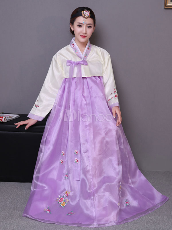 Vestito di carnevale costume coreano tradizionale fancy for Vestito tradizionale giapponese femminile