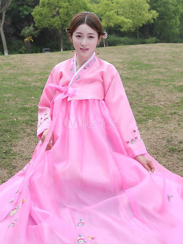 Traje de vestido de la mujer traje asiático halloween traje coreano ...