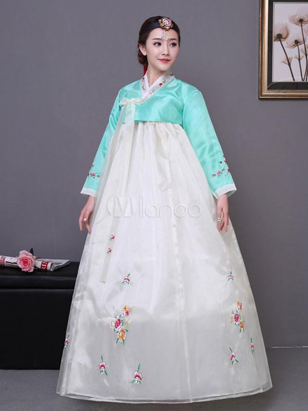 Karneval koreanische Tracht traditionelle Kostüm asiatisches Kostüm ...