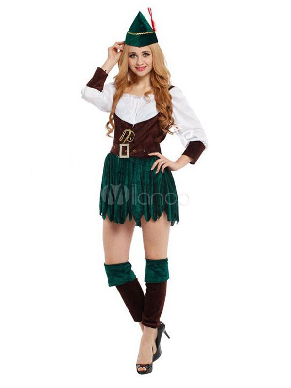 karneval paar kost m robin hood saint patricks day gr n outfit. Black Bedroom Furniture Sets. Home Design Ideas