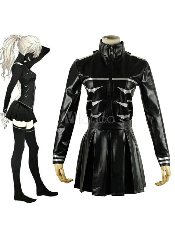 Tokyo Ghoul Keneki Ken Female Version Cosplay Costume Halloween