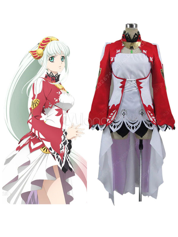Tales Of Zestiria Lailah Cosplay Costume Halloween