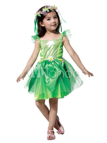 b63bc55caff Halloween Fairy Costume Saint Patrick s Day For Kids The Wizard Of Oz Green  Party Dress With ...