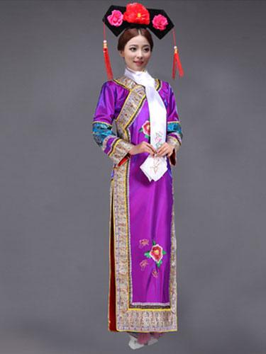 1d322f56f Women's Chinese Costume Halloween Qing Dynasty Princess Fancy Dress ...