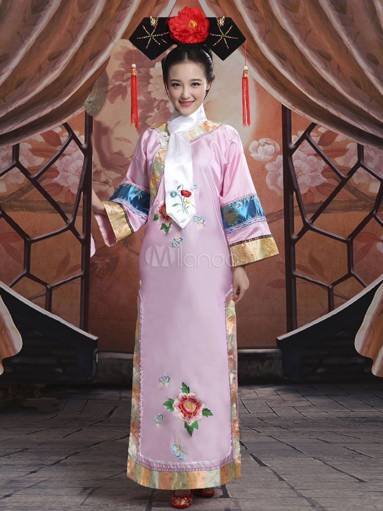Buy Halloween Chinese Costume Women's Ancient Princess Pink Fancy Dress for $48.99 in Milanoo store