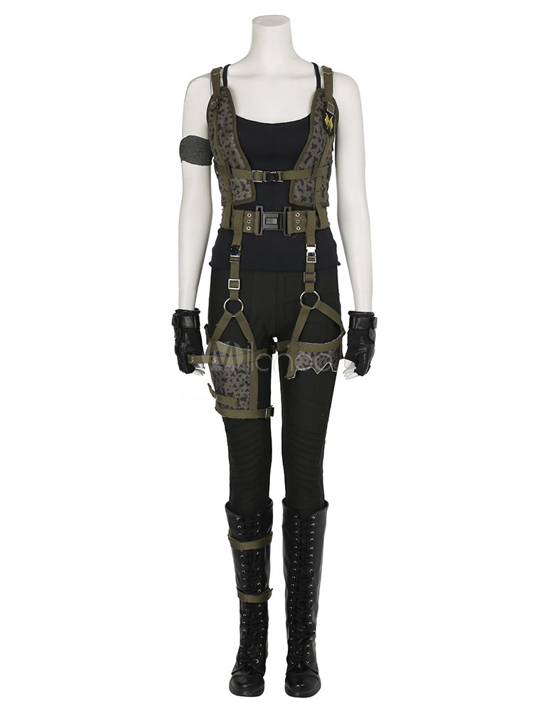 Resident Evil: The Final Chapter Alice Halloween Cosplay Costume Halloween