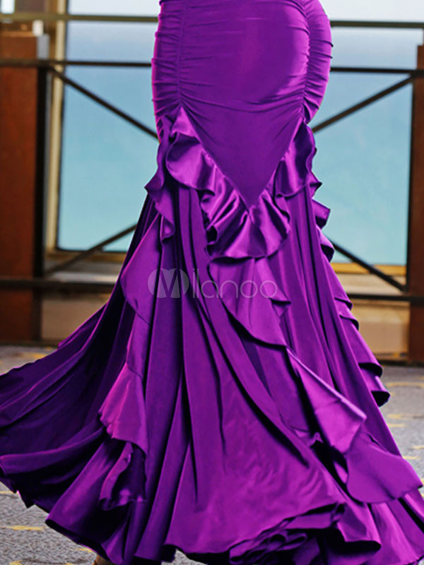 Traje de baile de salón para baile Bailarín de salón fibra de ...