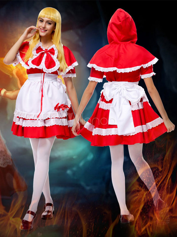 Buy League Of Legend Lol Red Riding Annie The Dark Child Cosplay Wig Halloween for $25.99 in Milanoo store