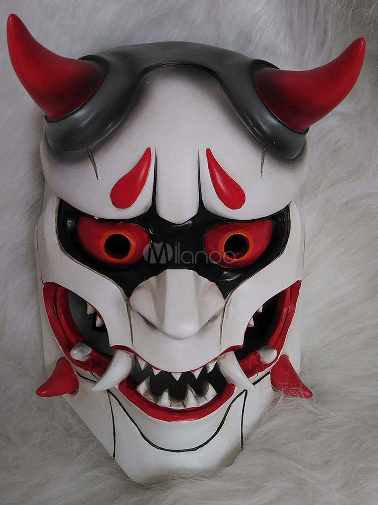 Buy Overwatch Genji Shimada Halloween Cosplay Mask Cosplay Props Halloween for $52.99 in Milanoo store