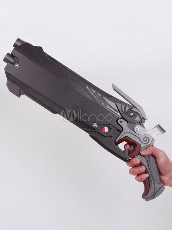 Overwatch Reaper Gabriel Reyes Cosplay Gun Cosplay Weapon Halloween
