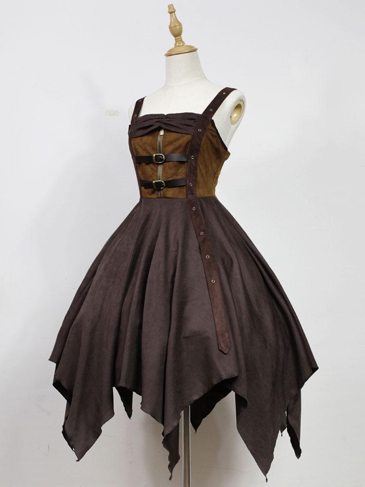 Steampunk Lolita Dress Neverland Pirate Ship Jsk Deep