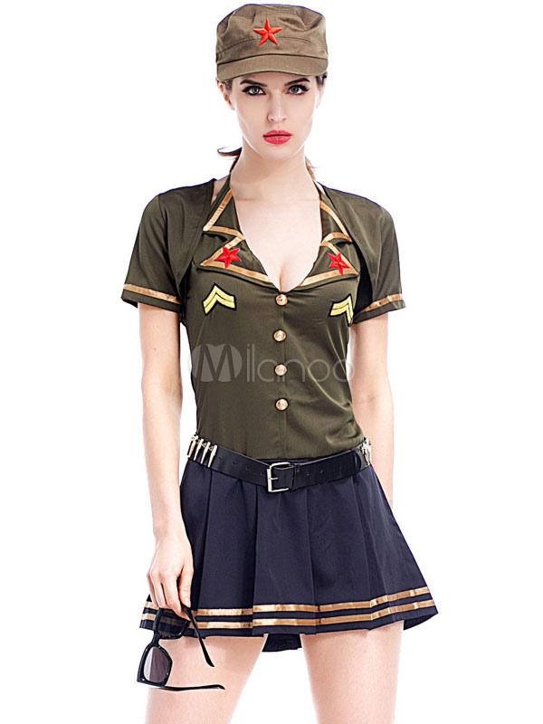 Сексуальные наряды милитари