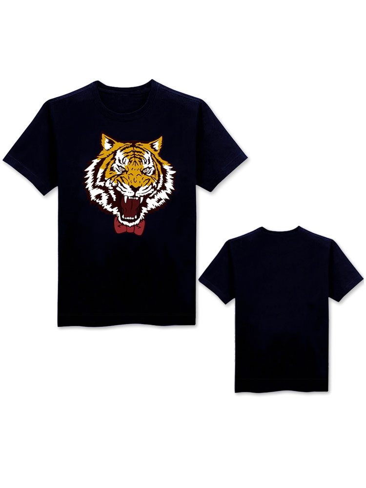Buy YURI!!! On ICE Yuri Plisetsky Tiger Head T Shirt Halloween for $14.71 in Milanoo store