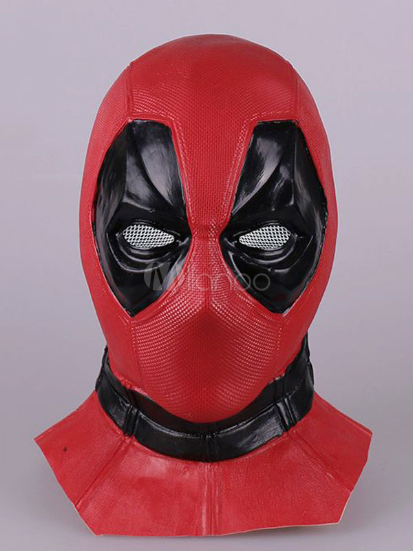 2ce60c56137 Deadpool Cosplay Mask Halloween Cosplay Marvel Comics Halloween-No.1 ...